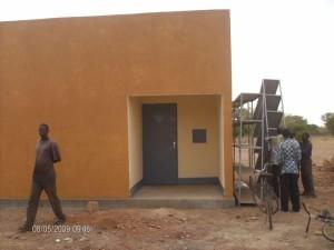 Sanitätsgebäude