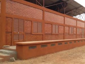Erstes Schulgebäude 2011