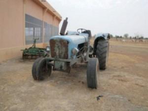 Vereins eigener Traktor