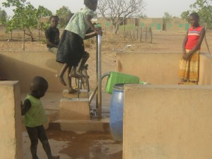 Brunnen für Trinkwasserversorgung