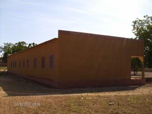Schulgebäude in Yako