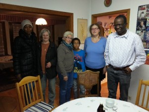 Alice mit Familie Tiendrebeogo