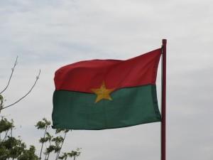 Landesflagge Burkina Faso