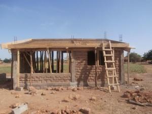 Guibtenga Technikgebäude für Solaanlage