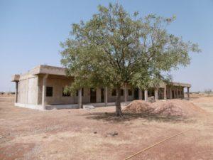 Unterrichtsgebäude November 2016