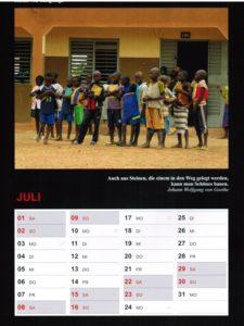 Kalender 2017 - Juli