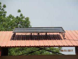 Solarmodul Schule Dapoya