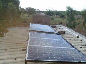 Solarmodule Dach Villy