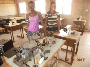 Nähmaschinen für Berufsschule