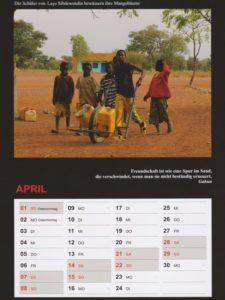 Kalender 2018 / April