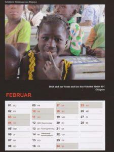Kalender 2018 / Februar
