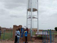 Solarpumpe mit Wasserhochbehälter