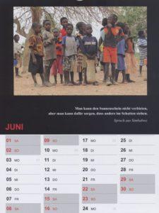 Kalender 2019 / Juni