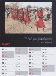 Kalender 2019 / März