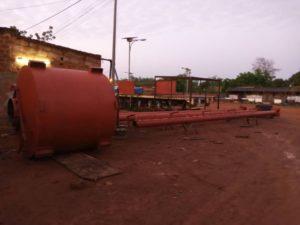 Brunnenfertigung bei Werkstatt