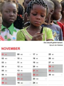 Kalender 2020 / November