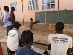 Seminar in Koudougou an Berufsschule