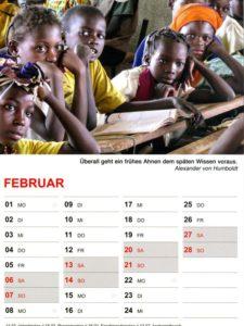 Kalender 2021 / Februar