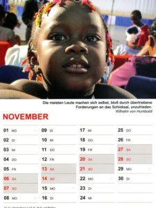Kalender 2021 / November